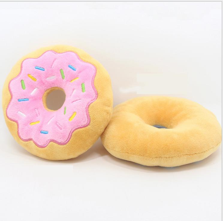 Donut med glasyr