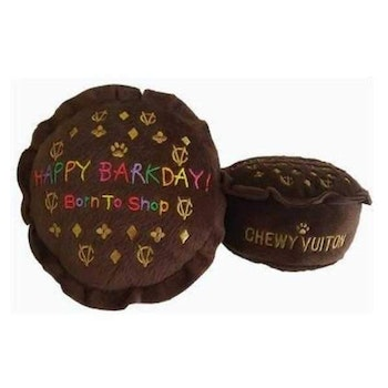 Dog Diggin Design Chewy Vuiton Happy Barkday Cake