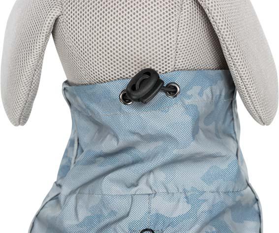 Lunas Reflextäcke Silverblå camouflage