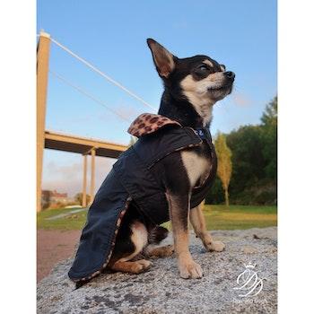 Sporttäcke Fleece Svart Diva, Hundkläder