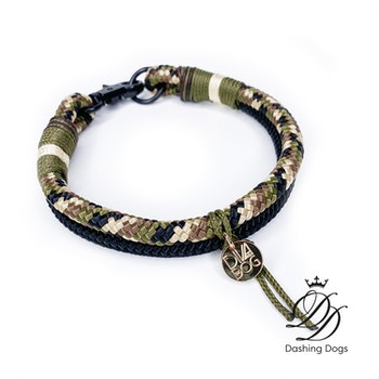 Diva & The Dog Camo Boy Halsband