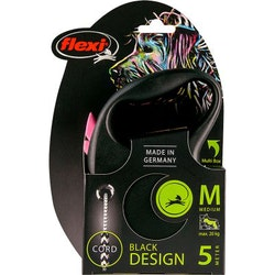 Flexi New Black Design, Rosa, M
