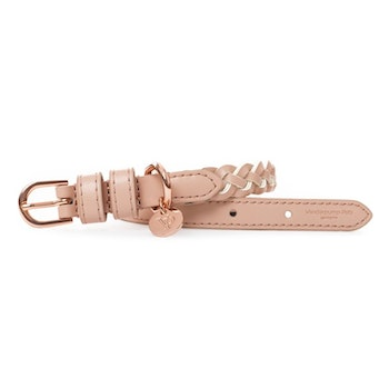 VP Pets Handwoven Collar, Blush