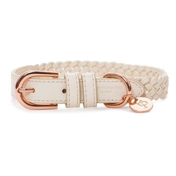 VP Pets Handwoven Collar, Cream