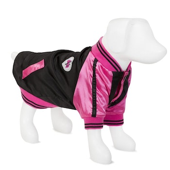 VP Pets Windbreaker Baseball Jacket, Pink