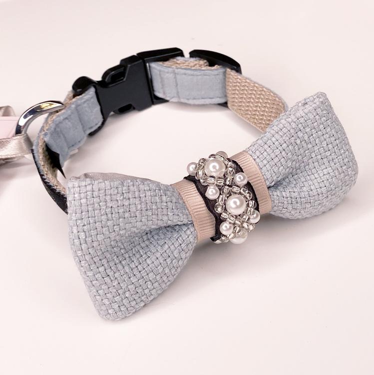Halsband Pearls Bow-tie Celeste