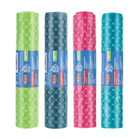 Bajspåsar 60-pack sorterade färger
