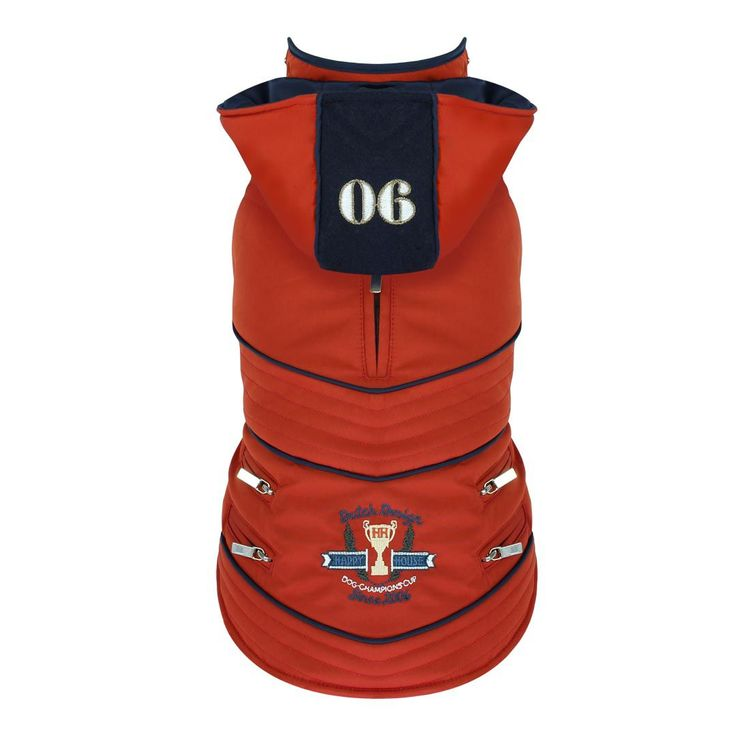Dogfashion Jacket Red Champion