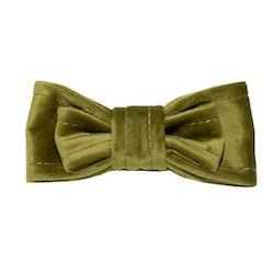 Dubbel Fluga till halsband, Olivgrön