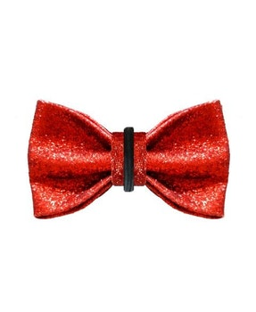 Milk & Pepper Stardust Bow Tie Red