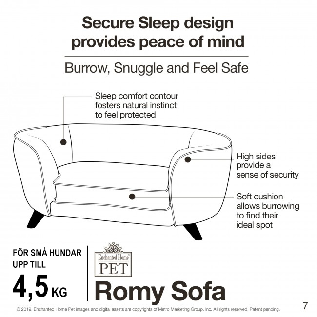 Hundsoffa Romy Grey