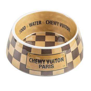 Haute Diggity Dog Chewy Vuiton Matskål Checker