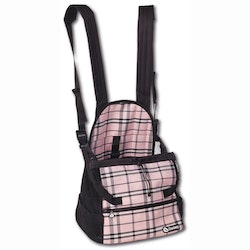 Front Carrier, Small, Scottish Pink