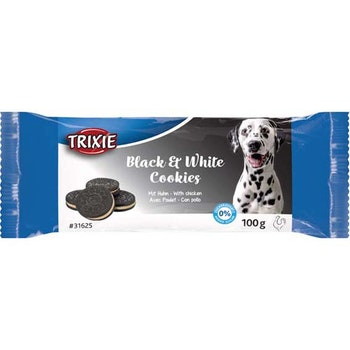 Hundkakor Black & White, kyckling 4-pack