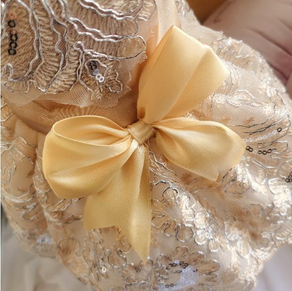 Princess Dress Gold