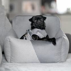 Finessa Modern Grey, Bilstol för hund Dubbel