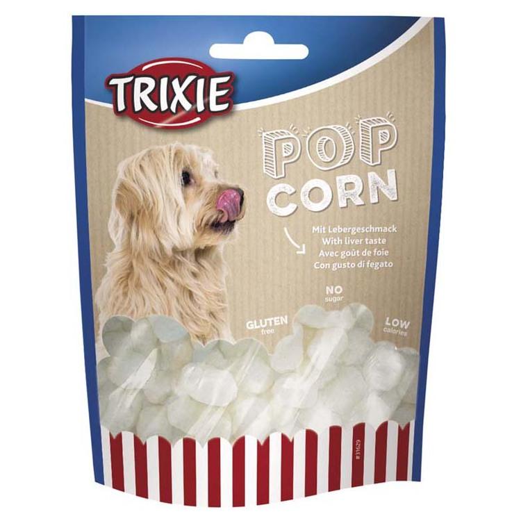 Popcorn med leversmak