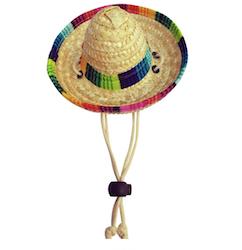 Sombrero hatt till hund/katt
