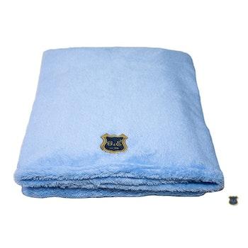 Fleecefilt Puderljusblå 100x70cm
