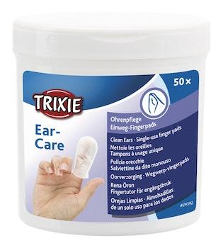 Fingerpads för öronvård Aloe Vera, 50-pack