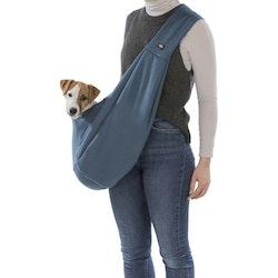 Magväska för hund, Sling, Blå