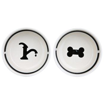 Matbar keramikskålar