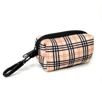 Check it out Tartan Poo Bag Holder