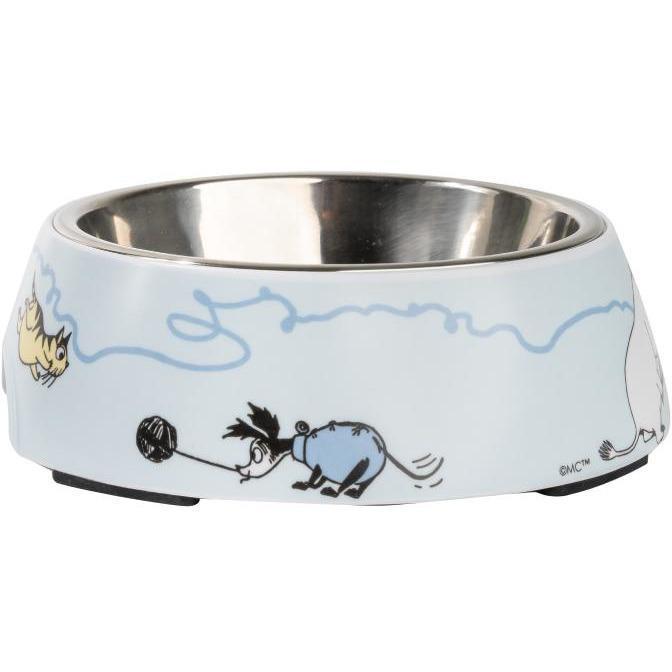 Moomin Pets food bowl, blue Small