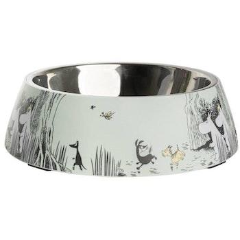 Moomin Pets food bowl, green X-Large