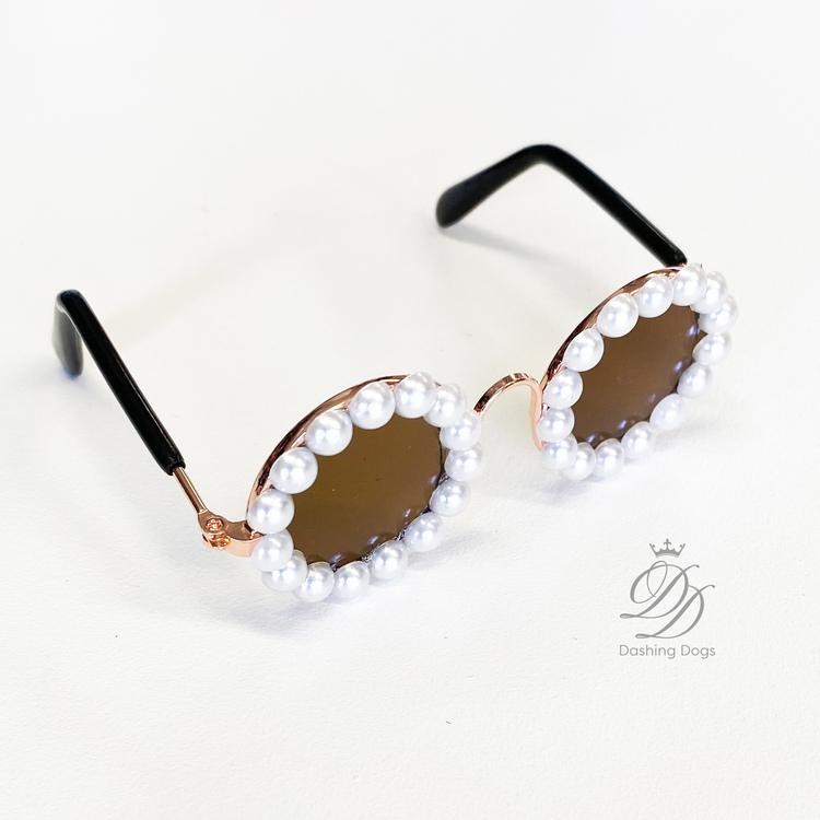 Glasögon Fashion Pearls, Hund/Katt
