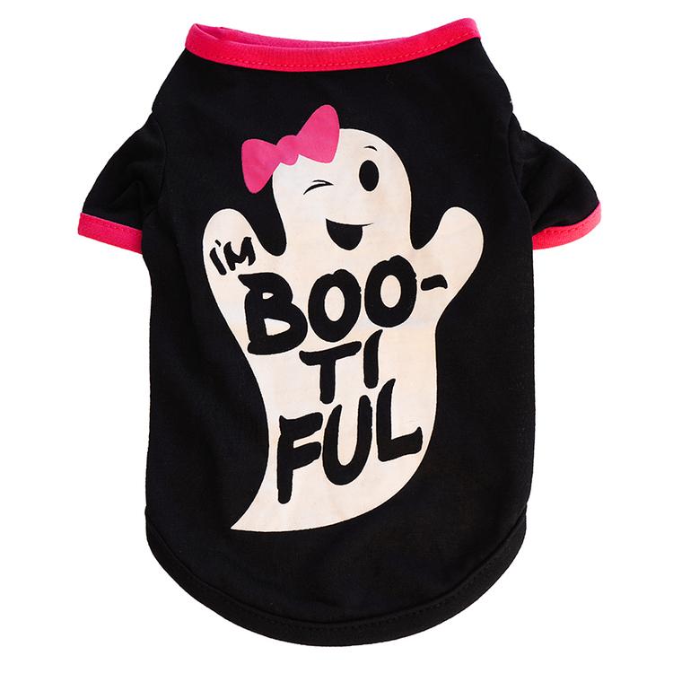 Halloween T-shirt till hund
