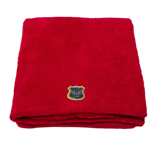 Fleecefilt Röd 100x70cm