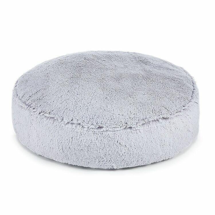 Hundbädd Fluffy, Grey