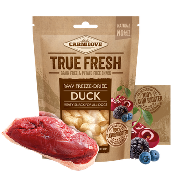 Carnilove Raw freeze-dried Duck with red fruits 40 g