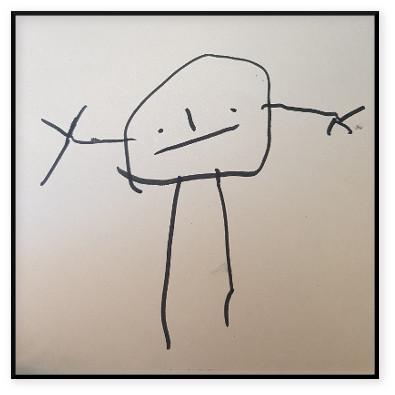 Teckningsfigur - Designa efter bild