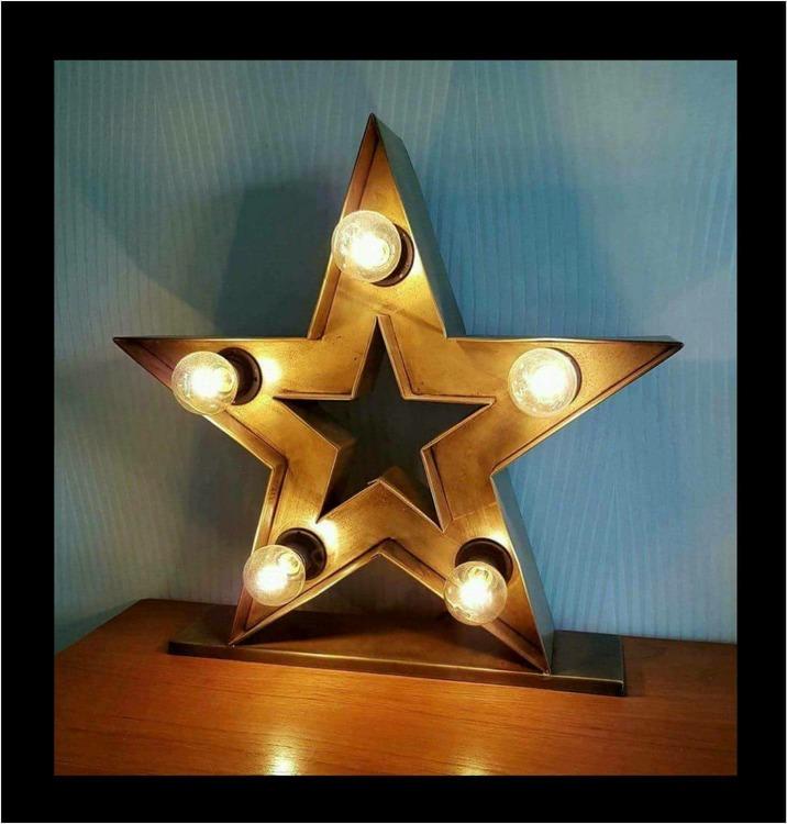 Lampa Circus Star Bronze