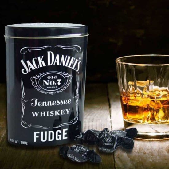 Jack Daniels Fudge i Plåtburk 300 g