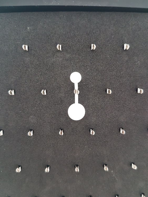 Navelpiercing Bioplast Vit 1.6x8mm