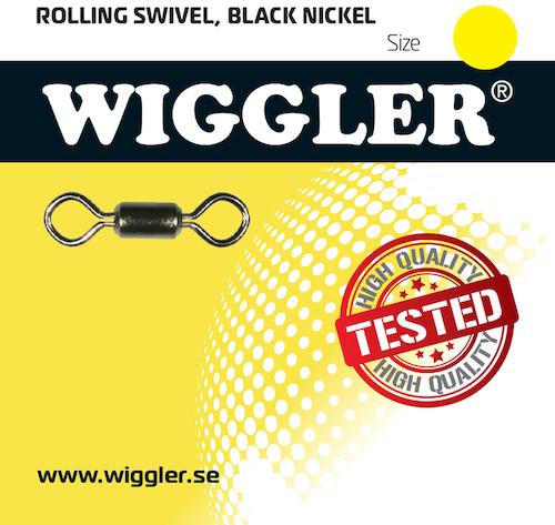 Wiggler Rolling Lekande stl 1/0 (6st-pack)