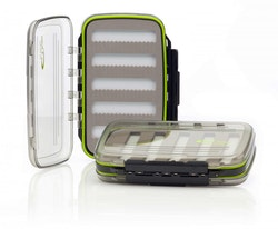 A. Jensen, See Thru fly box, L