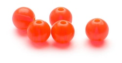 Darts plastic Beads Fluo red 6mm
