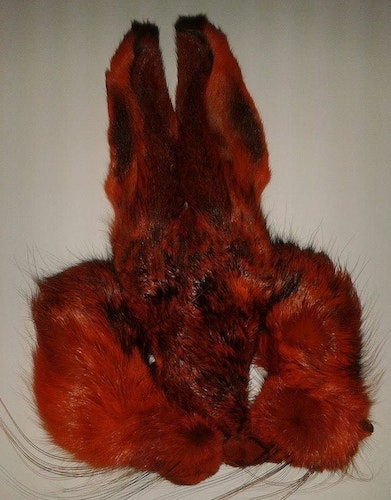 Hares mask orange (Wapsi)
