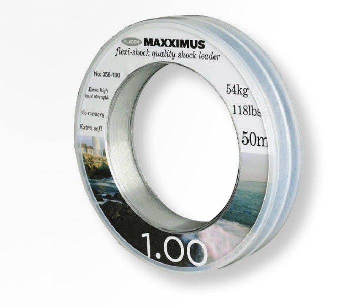 Maxximus Flexi-shock leader 50m 1.20mm 167lbs