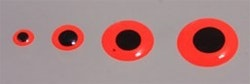 Epoxy Eyes 9mm Silver