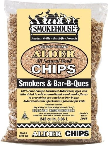 Smokehouse wood chips, Alder