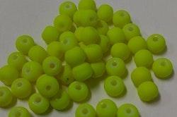 Glaspärlor 8mm Chartreuse