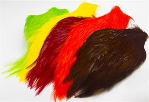 CHINESE STREAMER ROOSTER NECK FIERY BROWN