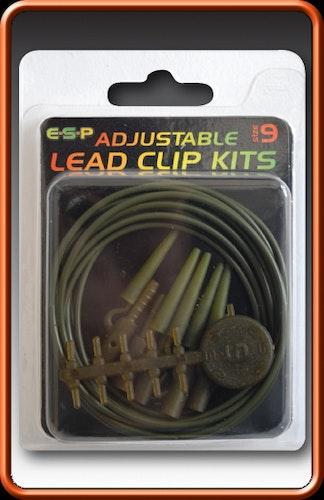 ESP Adjustable Lead Clips (Weedy Green)