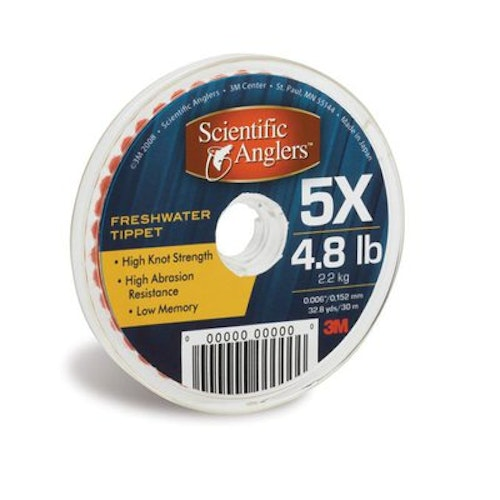 Scientific Angler Freshwater Tippet 3X - 0.20mm