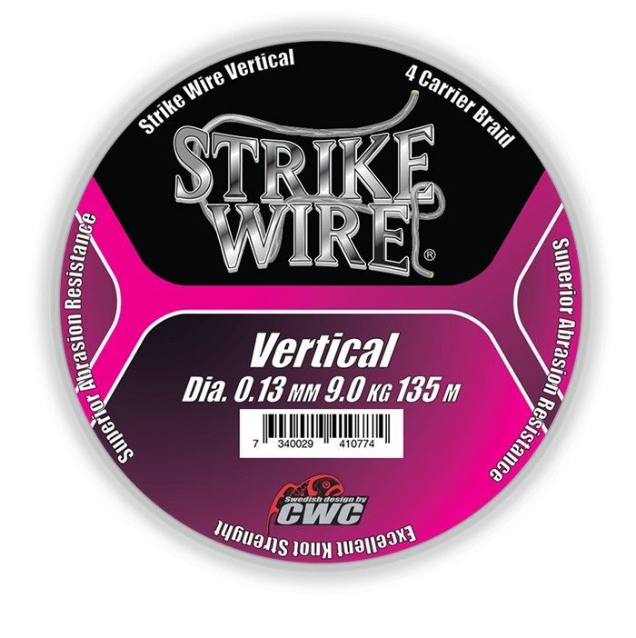 Strike Wire Vertical Braid 0,13mm Hi-Vis Pink
